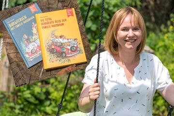 Autorin Anja Schenk schreibt Reiseabenteuer aus Sachsen und braucht noch Unterstützer