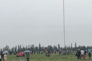 Im Video: 153-Meter-Funkturm bei Wilsdruff wurde gesprengt!