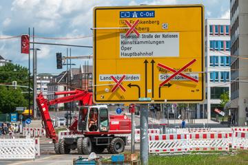 Baustellen Chemnitz: Baustellen und kein Ende: Das ist dieses Jahr noch in Chemnitz geplant