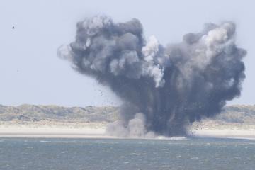 Weltkriegs-Torpedo vor beliebten Nordsee-Inseln gesprengt