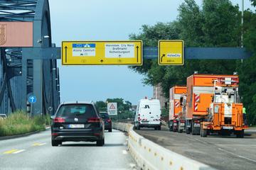 Hamburg: A255 vor Hamburger Elbbrücken: Sanierung verzögert sich erneut