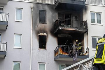 Wohnhausbrand in Wiesbaden: Feuerwehr rettet drei Menschen und zwei Katzen