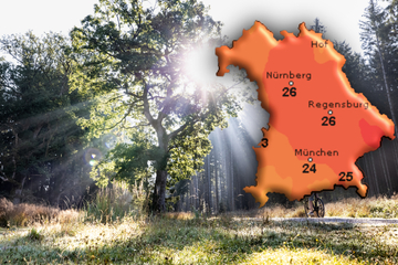 Spätsommer in Bayern: So warm wird es jetzt nochmal