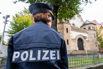 Nach Attacken: Polizei verstärkt Kontrollen auf Synagogen und jüdische Stätten