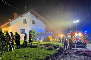 Unwetter in Oberfranken: Polizei und Feuerwehr im Dauereinsatz