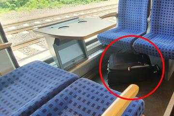 Leipzig: Herrenloser Koffer im Zug: Fahrgäste werden evakuiert, Spürhund kommt zum Einsatz