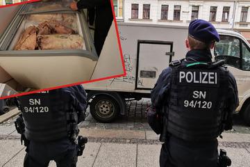 Leipzig: Verdacht auf Gammelfleisch: Mehrere Geschäfte in Leipzig durchsucht