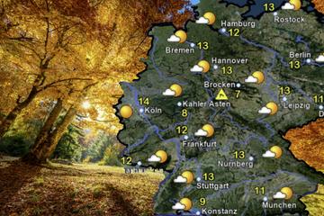 """Nach Mega-Sturm: Hoch """"Quedlinburga"""" bringt am Wochenende die Sonne zurück!"""
