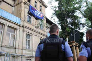 Dresden: Hausbesetzung in Dresden: Eigentümer noch nicht bekannt