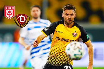 Top-Neuzugang für HFC! Dynamos Ex-Sportchef Minge holt nächsten Dresdner