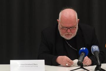 """""""Versagen"""": Kardinal Marx bittet in Garching für Missbrauchsfälle um Entschuldigung"""