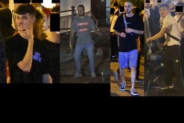 Nach Krawallnacht in Augsburg: Polizei sucht diese Randalierer
