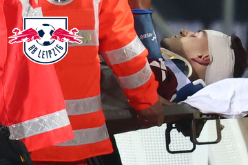 Bewusstlos nach Kopfballduell? Sorge um RB-Leipzig-Leihgabe Krauß!
