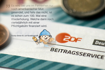 """""""Pflichtgebühr für Müll und Wiederholungen"""" im ZDF?"""