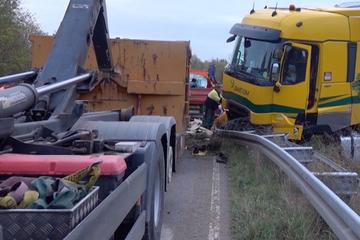 """Chaos nach Waschmittellaster-Unfall: """"Dann hätten wir eine Schaumparty!"""""""
