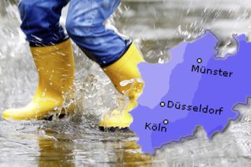 Ungemütlicher Wahl-Sonntag in NRW: Schauer und Gewitter vor allem am Nachmittag