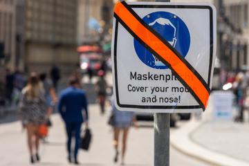 Coronavirus in Frankfurt und Hessen: Maskenpflicht in Wiesbaden wird gelockert