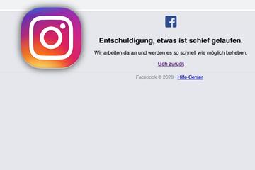Instagram ist down: Weltweit Probleme und Ausfallmeldungen