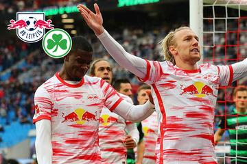 Pfiffe zur Halbzeit! Doch RB Leipzig wendet Blamage gegen Schlusslicht Fürth klar ab