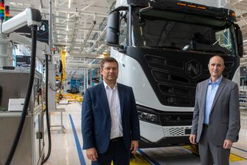 Strom statt Diesel: Iveco und Nikola bauen jetzt E-Trucks