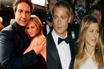 Jennifer Aniston dishes on Brad Pitt and David Schwimmer hookup rumors!