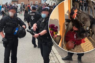 Pfefferspray-Attacke auf Polizisten in Zwönitz: Angreifer kommt mit Geldstrafe davon