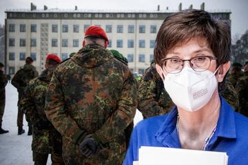 Kramp-Karrenbauer verurteilt Bundeswehr-Skandal in Litauen scharf