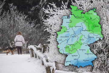 Nächste Woche schon Schnee in Deutschland? So kalt wird das Wetter in den nächsten Tagen