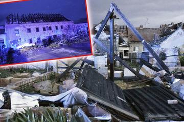 """Horror-Tornado wütet über Tschechien: Mindestens drei Tote, über 200 Verletzte! """"Hier herrscht Panik"""""""