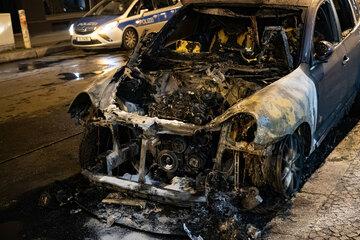 Berlin: Erneut stehen Autos in Berlin in Flammen