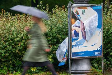"""Zerstörung von Wahlplakaten: """"Da wird sich gezielt dazu verabredet"""""""
