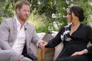 Prince Harry and Meghan drift further away from royal family with christening decision