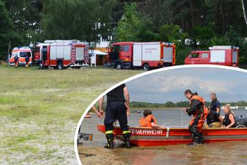 Feuerwehr im Einsatz: Mutter und Sohn treiben hilflos auf Spremberger Stausee