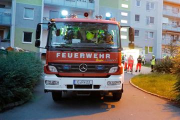 Chemnitz: Brandstiftung in Chemnitzer Wohnblock: Gebäude evakuiert