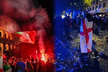 """""""Unerträgliche Schmerzen"""": So kommentieren englische und italienische Medien das EM-Finale"""