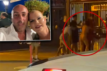 Nackte Frau randaliert an Melanie Müllers geschlossener Grillbude