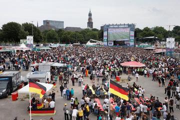 Hamburg: Public Viewing zur EM in Hamburg: Hier ist es möglich!