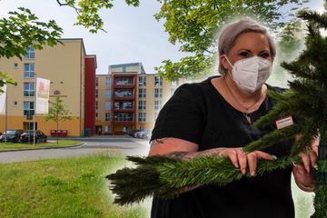 Chemnitz: Mitten im Sommer! Der Weihnachtsmann kommt ins Altenheim