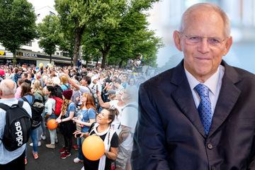 """Schäuble greift Querdenker an: """"Unerträgliches Maß an Überheblichkeit"""""""