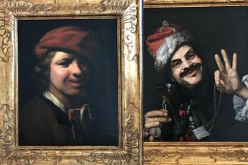 Wertvolle Öl-Gemälde im Müll gefunden! Polizei sucht nach Zeugen