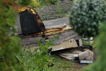 Dresden: Sofa fängt Feuer: Rettungskräfte bei Brand in Dresden im Einsatz
