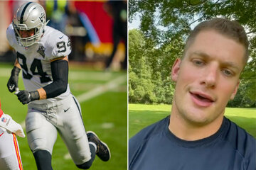 Raiders star Carl Nassib becomes first ever active NFL player to come out as gay