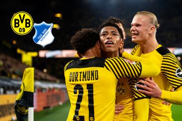Hammer-Schlussphase! BVB feiert Last-Minute-Sieg gegen TSG Hoffenheim