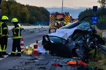 Vier Tote bei Unfall auf der A5: War ein Geisterfahrer die Ursache?