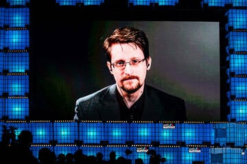 Whistleblower Edward Snowden is now a father