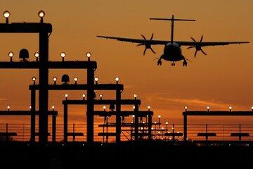 Laserpointer-Angriff auf Flugzeuge, die Organe transportieren
