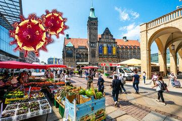 Chemnitz: Coronavirus in Chemnitz: Inzidenz in der Stadt sinkt leicht