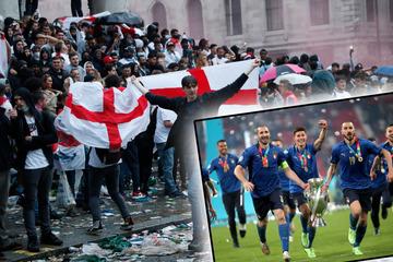 England-Fans blamieren sich immer weiter: Online-Petition für Final-Wiederholung?