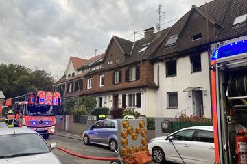 Frankfurt: Küche in Einfamilienhaus brennt lichterloh: Glücklicher Umstand ist Segen für Anwohner