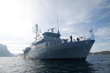 """Nach drei Monaten im NATO-Einsatz: Minenjagdboot """"Homburg"""" kehrt zurück"""